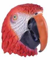 Carnavalskleding papegaaien masker volwassenen arnhem