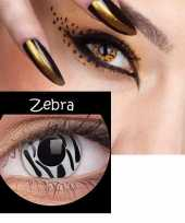 Carnavalskleding party lenzen zebra print arnhem