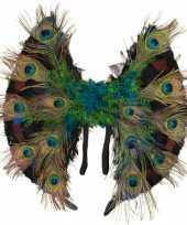 Carnavalskleding pauwenveren vleugels arnhem