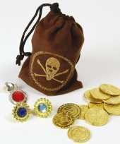 Carnavalskleding piraten buidel sieraden geld arnhem