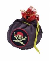 Carnavalskleding piraten geldbuidel doodskop arnhem