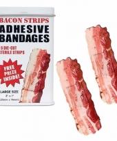 Carnavalskleding pleisters vorm bacon arnhem