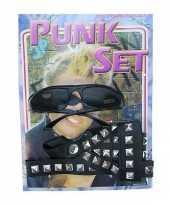 Carnavalskleding punkers verkleed set arnhem