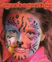 Carnavalskleding regenboog tijger schminken schminkset arnhem