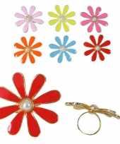 Carnavalskleding ring bloemetje arnhem