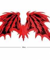 Carnavalskleding rode duivel vleugels arnhem