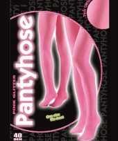 Carnavalskleding roze glitter panty denier arnhem