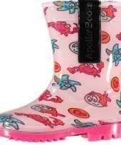 Carnavalskleding roze peuter regenlaarzen zeedieren arnhem