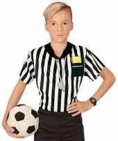 Carnavalskleding scheidsrechter verkleed shirt jongens arnhem