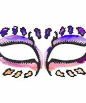 Carnavalskleding schmink tattoo sticker luipaard arnhem