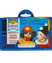 Carnavalskleding schminkset clown arnhem