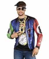 Carnavalskleding shirt rapper opdruk arnhem