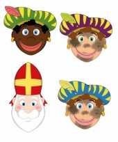 Carnavalskleding sinterklaas zwarte pieten sinterklaas maskers setje arnhem