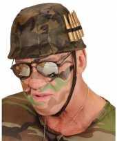 Carnavalskleding soldaten helm kogels arnhem