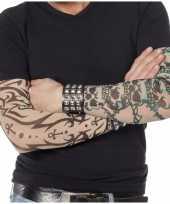 Carnavalskleding tattoo sleeves gothic volwassenen arnhem