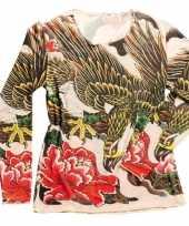 Carnavalskleding tattoo t-shirt dames arnhem