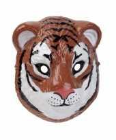 Carnavalskleding tijger masker d plastic cm arnhem
