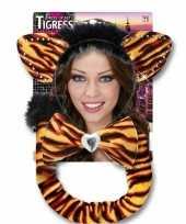 Carnavalskleding tijger verkleed setje arnhem