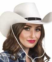 Carnavalskleding toppers witte cowboyhoed wichita dames arnhem