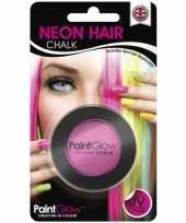Carnavalskleding uv haarkrijt roze arnhem