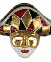 Carnavalskleding venetiaans masker harlekijn arnhem