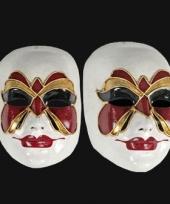 Carnavalskleding venetiaans masker vlinder arnhem
