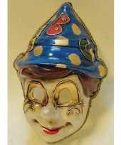 Carnavalskleding venetiaans pinocchio gezichtsmasker arnhem