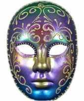 Carnavalskleding venetiaans regenboog masker arnhem