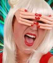 Carnavalskleding vingerbril rode nagels arnhem