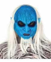 Carnavalskleding white walker zombie horror masker latex arnhem
