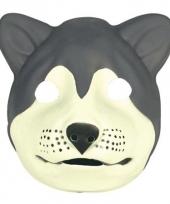 Carnavalskleding wolf masker soft foam arnhem