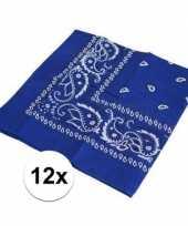 Carnavalskleding x blauwe boeren zakdoeken arnhem 10126073