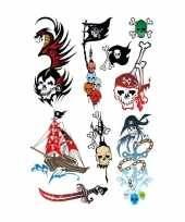 Carnavalskleding x piraten thema plak tattoo stickers arnhem 10143300