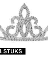 Carnavalskleding x prinsessen tiara zilver dames arnhem 10145252