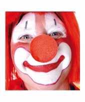 Carnavalskleding x stuks rode clowns neus neuzen foam arnhem 10124149