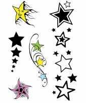 Carnavalskleding x velltjes sterren tattoos stuks per vel arnhem