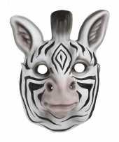 Carnavalskleding zebra verkleed dierenmasker kinderen arnhem