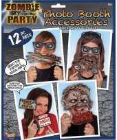 Carnavalskleding zombie foto prop set arnhem