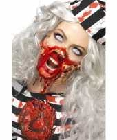 Carnavalskleding zombie latex make up set arnhem