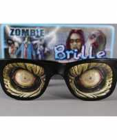 Carnavalskleding zombie ogen bril volwassenen arnhem