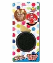 Carnavalskleding zwarte horror verkleed schmink gram sponsje arnhem