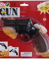 Carnavalskleding zwarte speelgoed politie revolver schoten arnhem