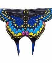 Carnavalskleding zwarte zwaluwstaartvlinder vleugels kids arnhem
